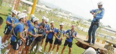 3 Zona Wahana High Rope Sentul di Taman Budaya, Apa Saja?