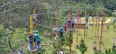9 Rekomendasi Wahana Outbound Sentul di Taman Budaya, Mau Coba yang Mana?